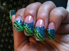 Curved Nail Designs Google Search