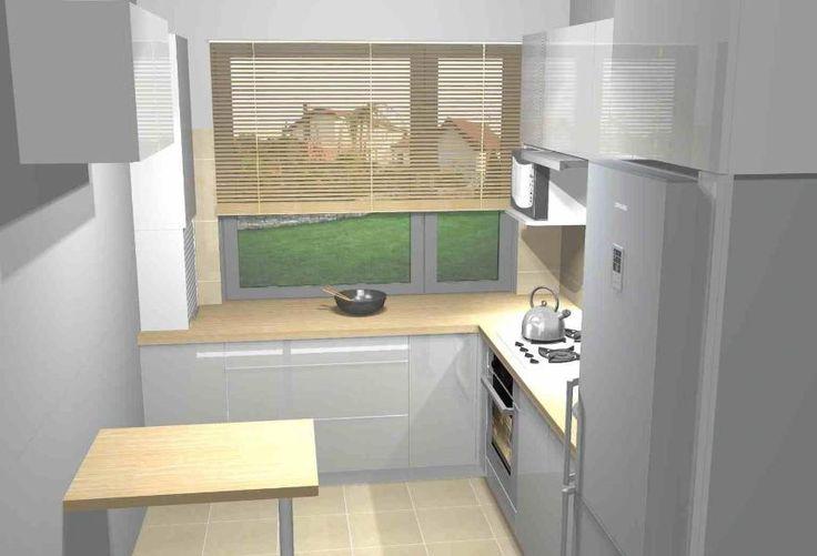 Projekt małej kuchni 3