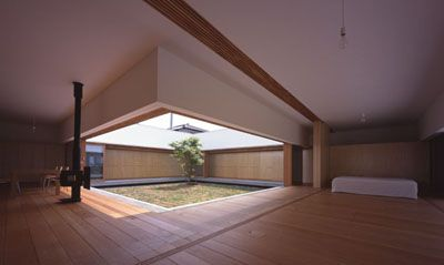 TEZUKA ARCHITECTS - Cloister House ...inspired by the traditional Japanese…
