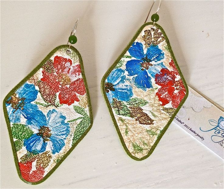 Orecchini Earrings Silk In Pelle E Argento 925
