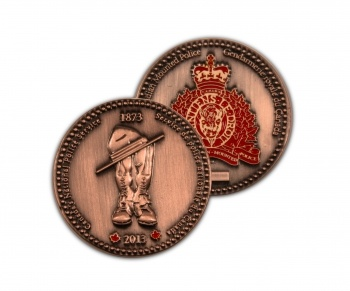$14.99 Born out of a need for a national police force in the late 1800's, the North West Mounted Police eventually formed to become the Royal Canadian Mountie Police force in the early 1900's. Today Canada's national police force employs over 29,000 people who specialize in fighting organized crime, terrorism, drugs, and offences that threaten the integrity of Canada's  borders. Celebrate the Royal Canadian Mounted Police with this limited edition 140th Ann Coin. Learn more…