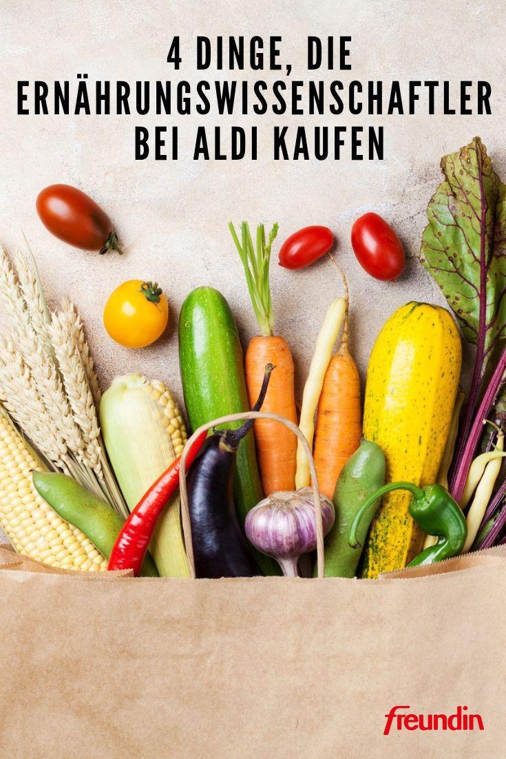 4 Dinge, die Ernährungswissenschaftler bei Aldi kaufen – Freundin