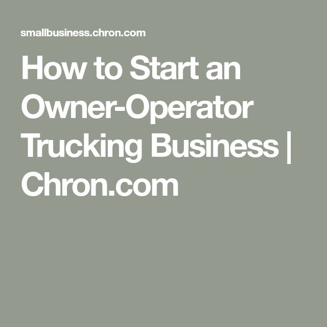 5 DIFFERENT WAYS OWNER OPERATORS CAN FIND CONSISTENT TRUCKING JOBS - cdl owner operator sample resume