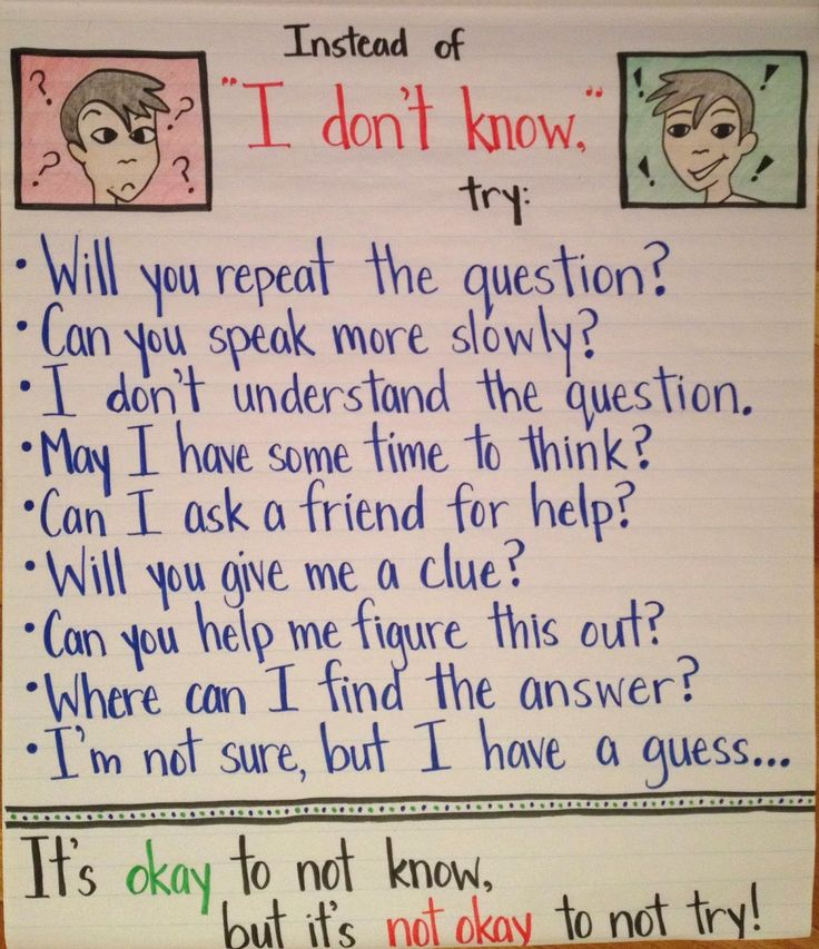 "ESL Amplified: Getting Students Beyond ""I DON'T KNOW…""  high expectations for the beginning of the year!"