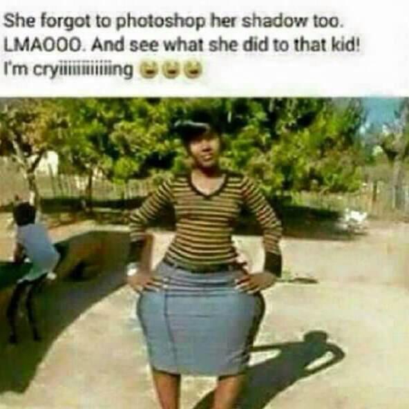Haha photo bomb epic fail