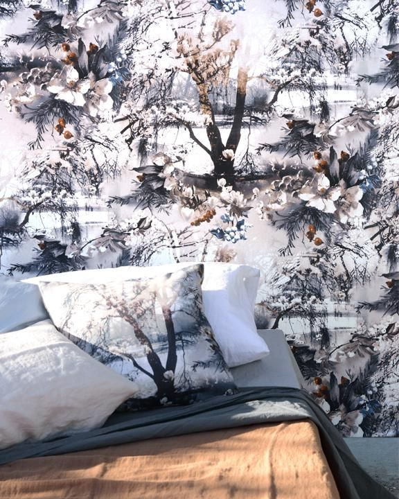 Tranquil and timeless, this misty landscape with contrasting matt and shine finish is sublime | Brume by Jean Paul Gaultier | Jane Clayton