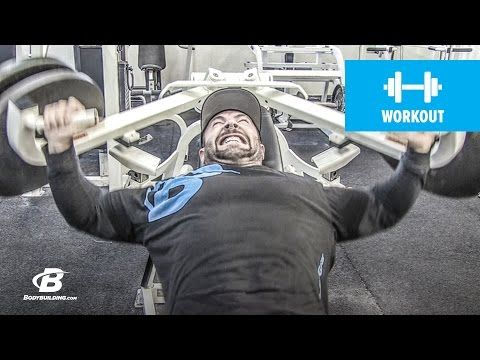 Bodybuilding.com: Chest and Calves Workout | Kris Gethin's 4Weeks2Shred | Day 5