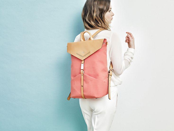 TheBétaVersion Spring/Summer 2015 campaign - Ezra rucksack in rust