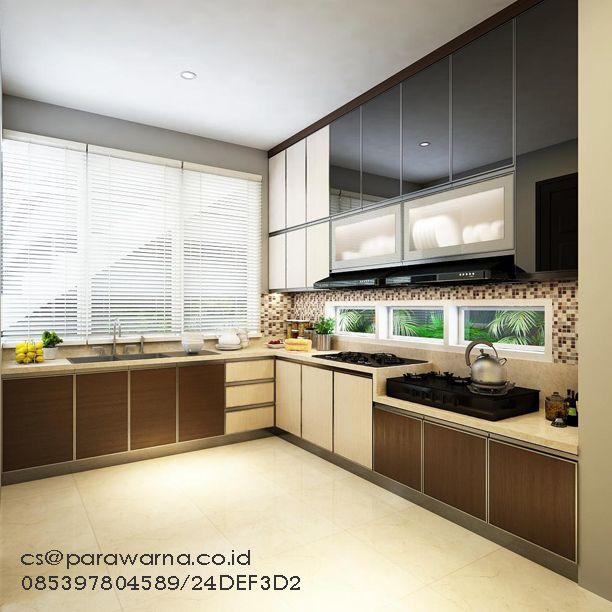 Gambar desain kitchen set kualitas real pict. By: Ardi www.parawarna.co.id