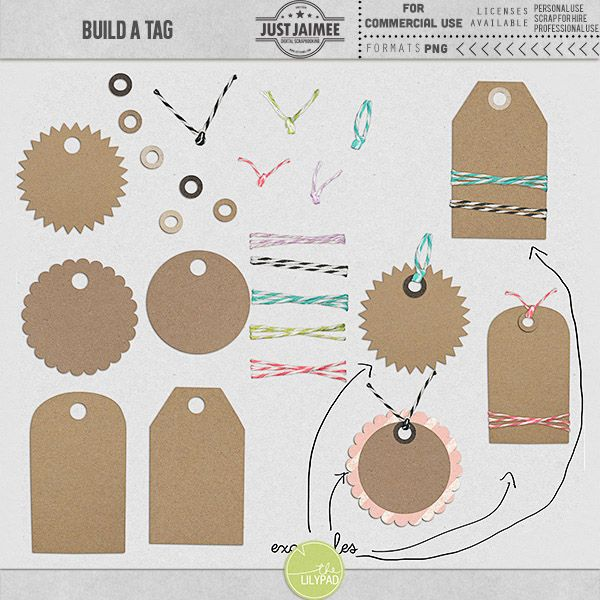 Build a Tag {CU commercial use}