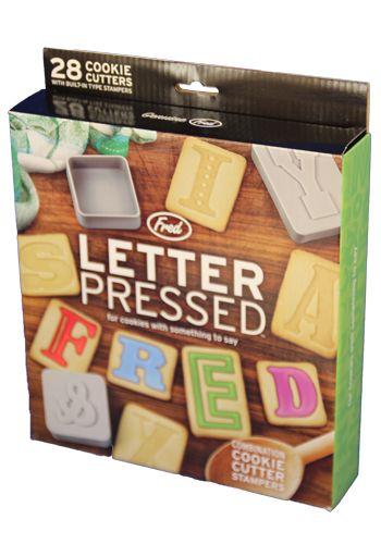 Buchstaben Austechformen für Kekse - küche