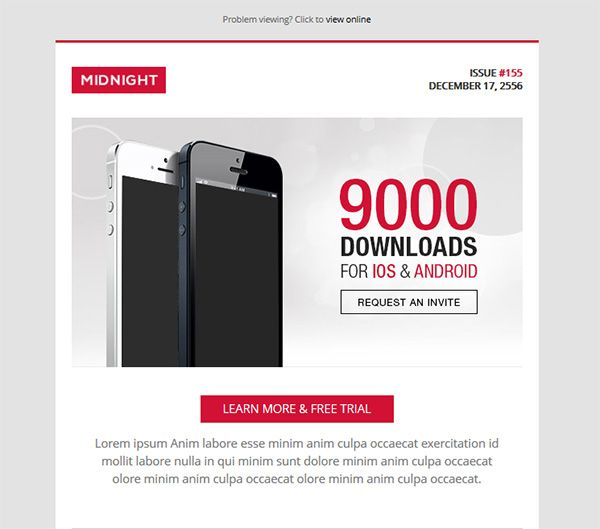 11 best Digital design images on Pinterest Email newsletters - example of newsletter templates