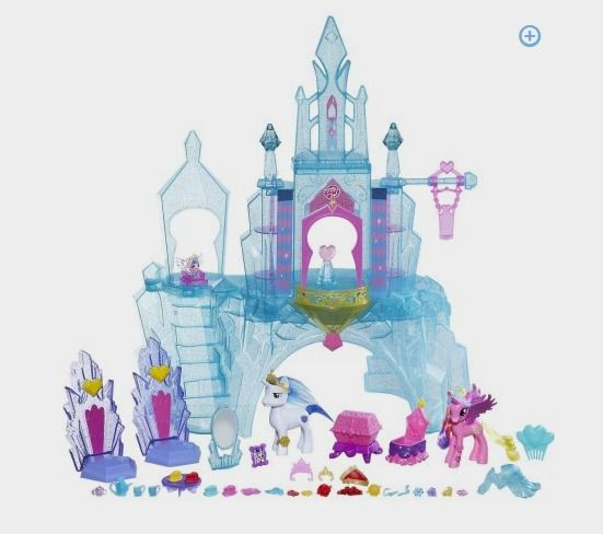 My Little Pony Explore Equestria Crystal Empire Castle Value Pack - Walmart http://fave.co/2cB5CRo