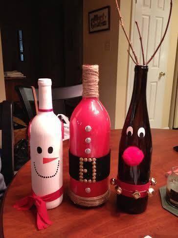 Ideid kuidas pudeleid huvitavalt pakkida.                      Krepp-paberi ja kunstlilledega kaunistatud.         Kaunista pudeleid kl...
