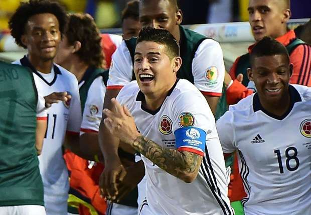 Colombia is a Copa America contender with or without James Rodriguez