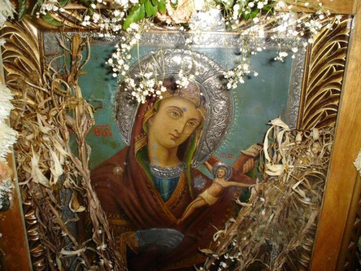 Η μοναδική εικόνα της Παναγίας του Χάρου και ένα θαύμα που επαναλαμβάνεται!