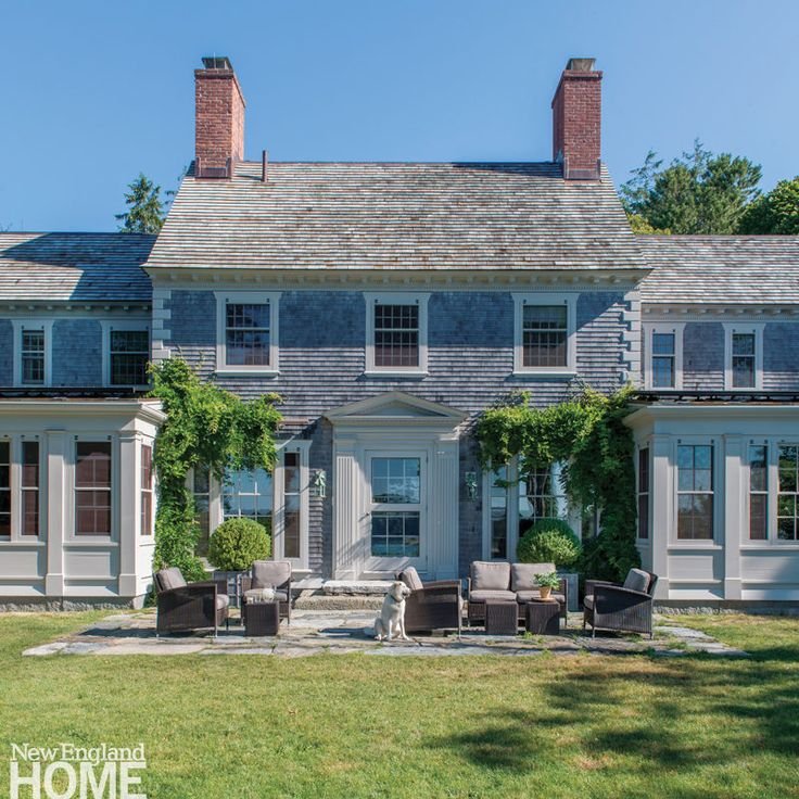 California Beach House With Cape Cod Style Architecture: House Tour: Charming Cape Cod On The Water