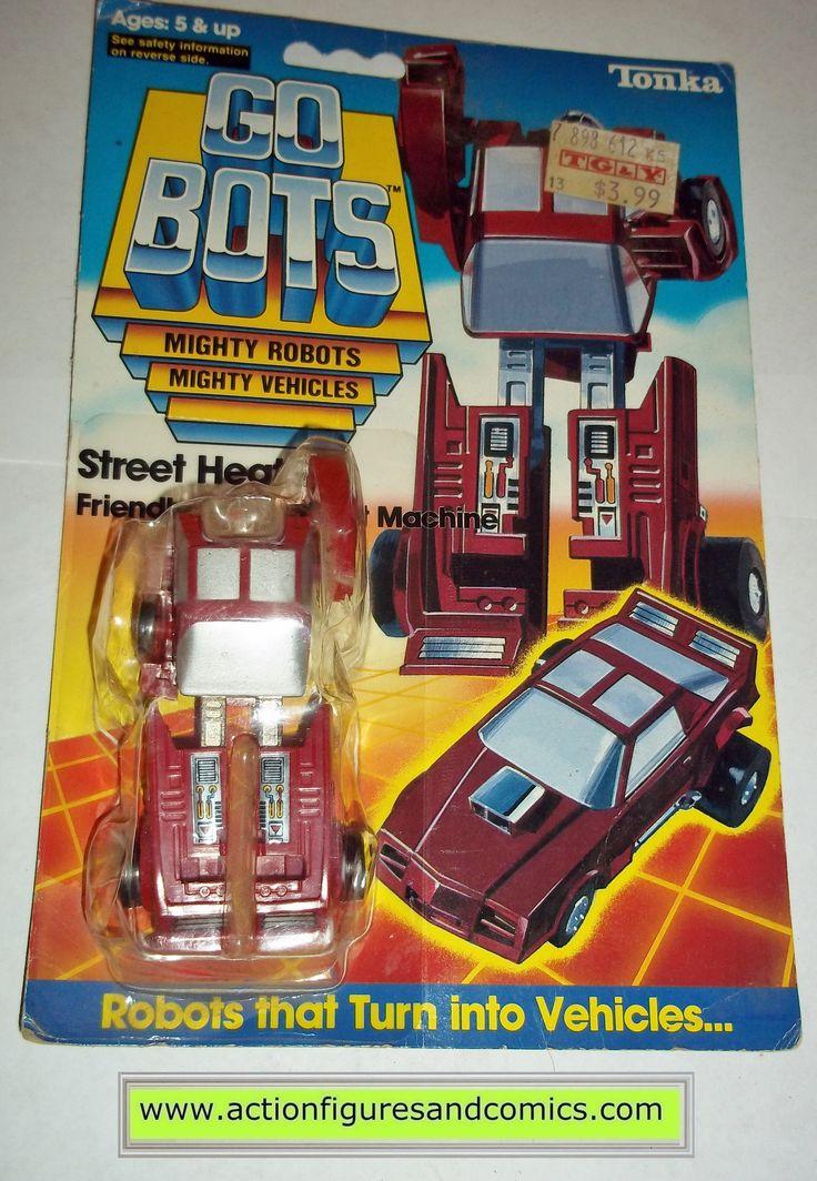 gobots STREET HEAT mr-36 1985 tonka ban dai toys action figures moc mip mib vintage transformers