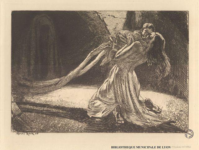 Marcel Roux (1878-1922), Les Mains de la Mort s'approchent.
