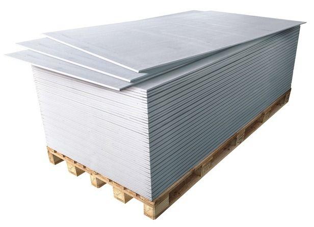 Chantier n°2 - Je pose mes plaques de plâtre // Plaque de Plâtre en BA13 Phonique  Dim. : 2,50 x 1,20 m,