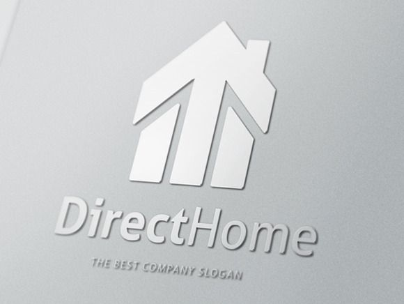 Direct Home logo by rotree_man on @creativemarket