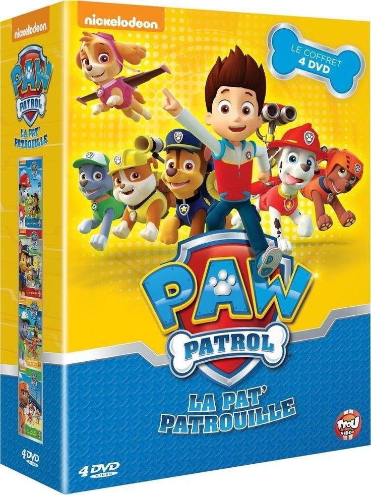 La Pat Patrouille - Le coffret 4 DVD, Amazon.fr, EUR 17