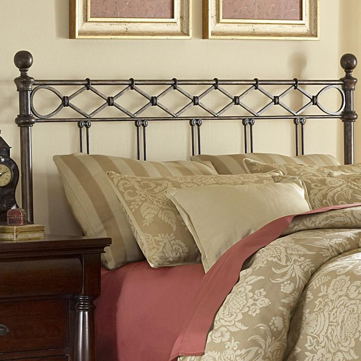 white size headboards for king metal queen and bed of image headboard iron