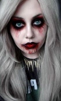 maquillage halloween zombie fille