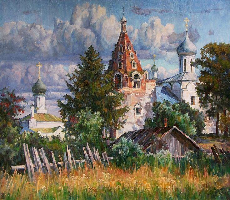 Художник Олег Захаров. Картины