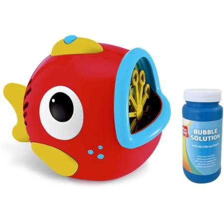 Large Fish Bubble Machine - Walmart.com