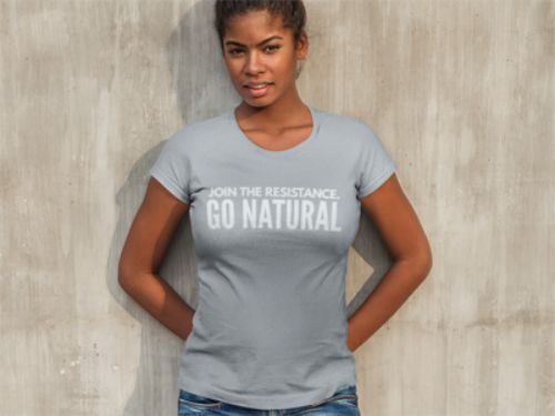 Natural Hair Tee Shirt, Join The Resistance. GO NATURAL, Women's T-Shirt | eBay