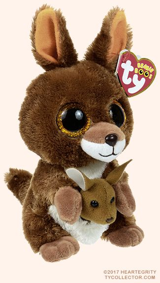 dbf8fb95bf0 Kipper - kangaroo - Ty Beanie Boo I have this one but mine doesn t have a  deal baby