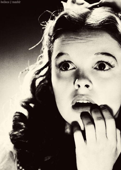 Judy Garland, The Wizard of Oz, 1939.