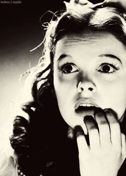 Judy Garland, The Wizard of Oz, 1939.