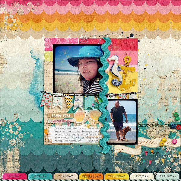 Beachy - Scrapbook.com