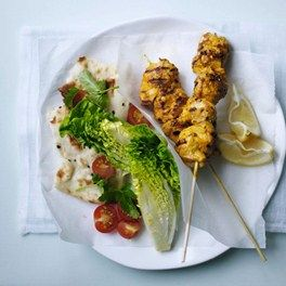 Indian Tikka Lamb Kebabs