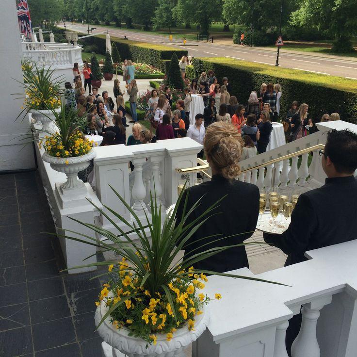 2016 Jenny Packham Bridal Event at the Mandarin Oriental Hotel London - Balcony View #JennyPackham #Bridal