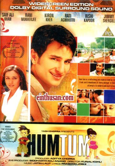 Hum Tum Hindi Movie Online - Saif Ali Khan, Rani Mukerji ...