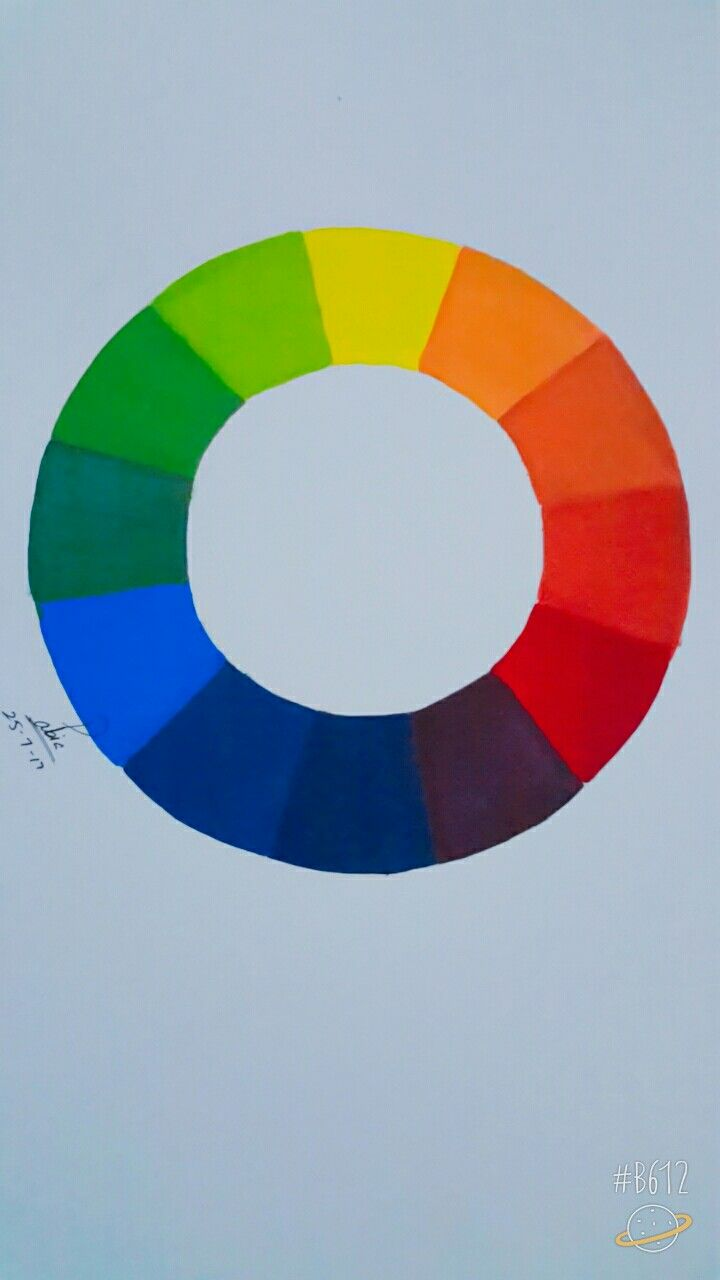 Color theory online games - Color Wheel With Primary Colors