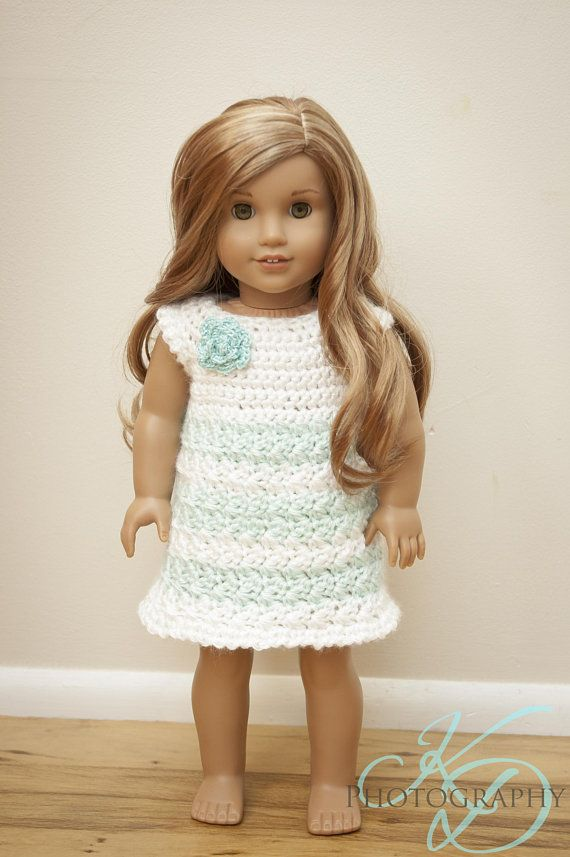 The Kinsley Dress Crochet Pattern for 18\
