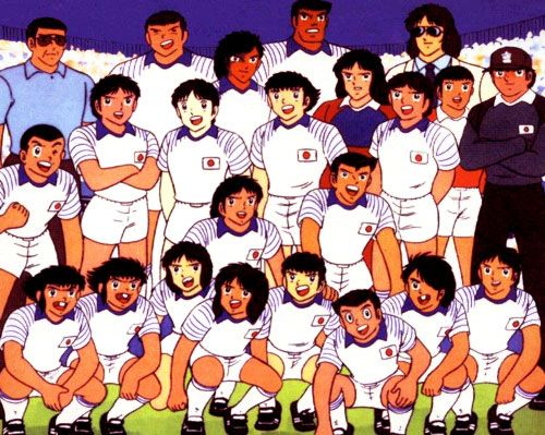 This is a very old anime Oli & Benji . Came out in 2002. I watched when i was like 7 with MILA & Shiro. This anime learned me a lot of things like Naruto but also learned me to play and love soccer as much as i love volleyball.