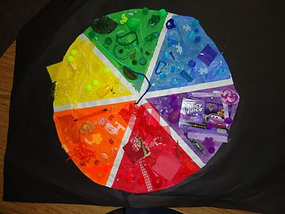 Make A Color Wheel This Is Designed For Preschool Age But Could