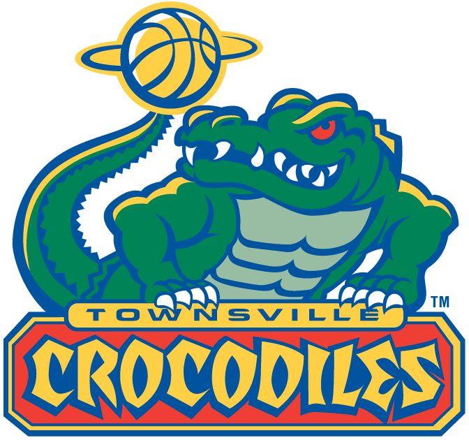 Townsville  Crocodiles Primary Logo (0) -