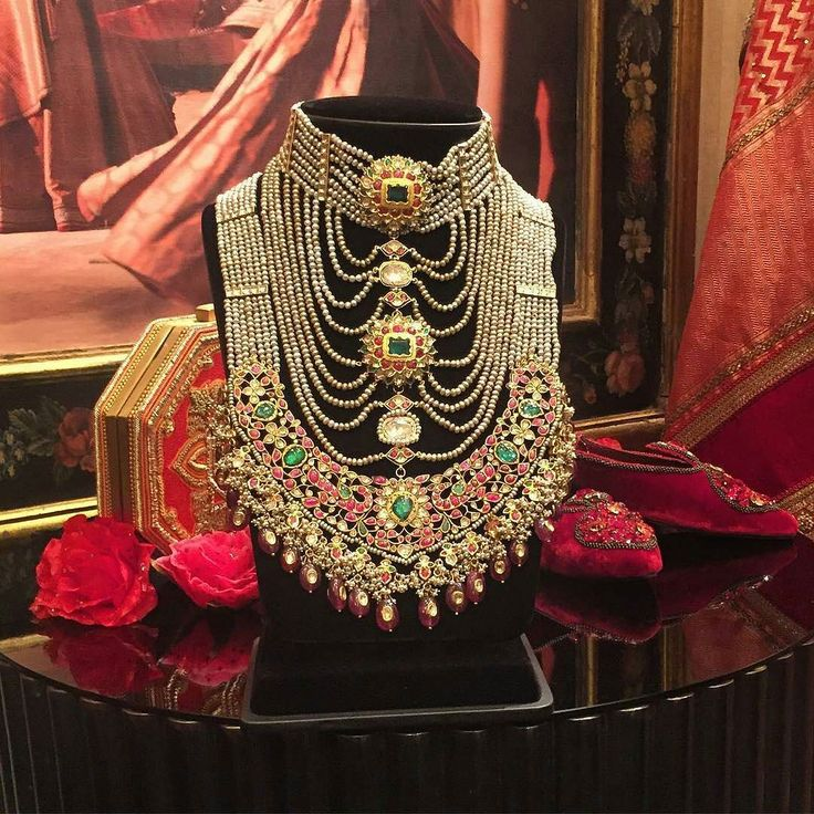 Looking for an elaborate statement #necklace @TarunTahiliani and…