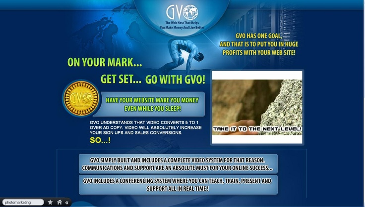#GVO UNDERSTANDS THAT #VIDEO CONVERTS 5 TO 1 OVER AD COPY. VIDEO WILL ABSOLUTELY INCREASE YOUR SIGN UPS AND SALES CONVERSIONS.  SO...! http://svisw1.gogvo.com