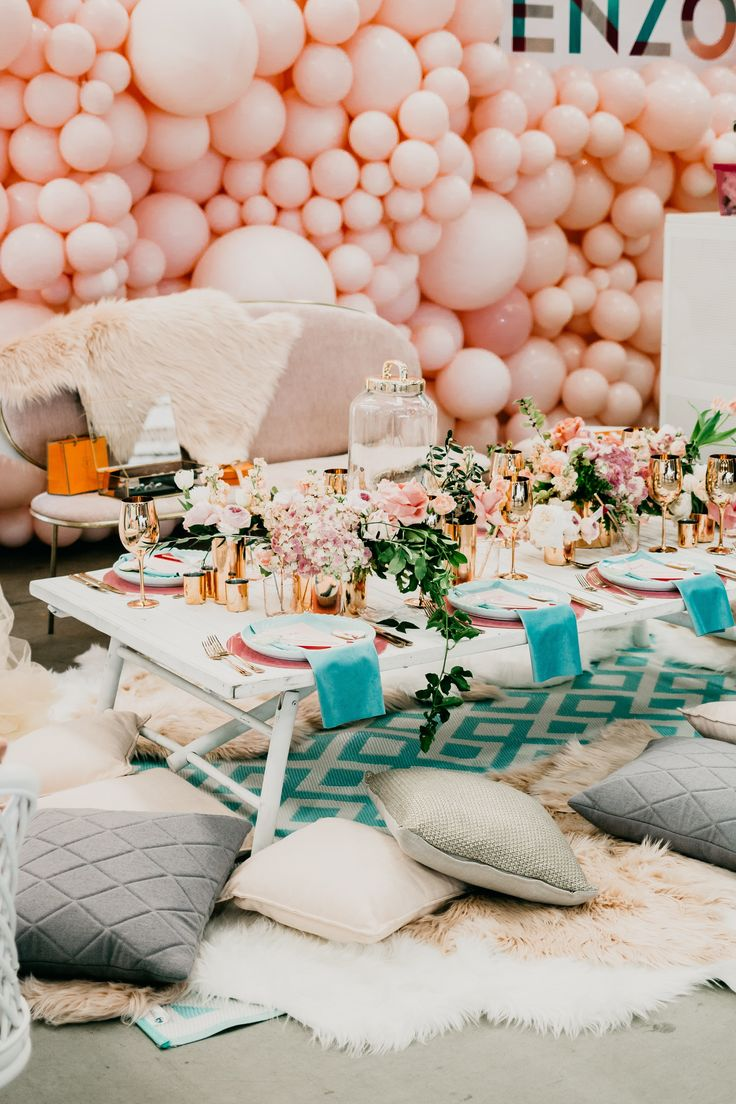 The New Wedding Trend We're Loving: Balloon Decorations | Bridesaffordable compared to florals like a bigger bang for your buck. and create something amazing. big and bold colorful or romantic with a fairytale