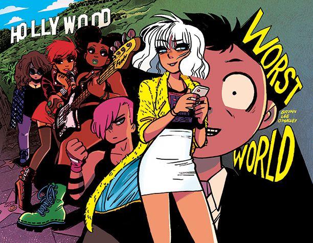 First Look at SCOTT PILGRIM Creator Bryan Lee O'Malley's New Comic Series, WORST WORLD — GeekTyrant