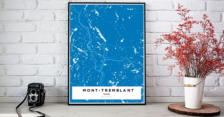 Mont-Tremblant | Custom Map Maker – Make Your Own Map Poster Online - YourOwnMaps