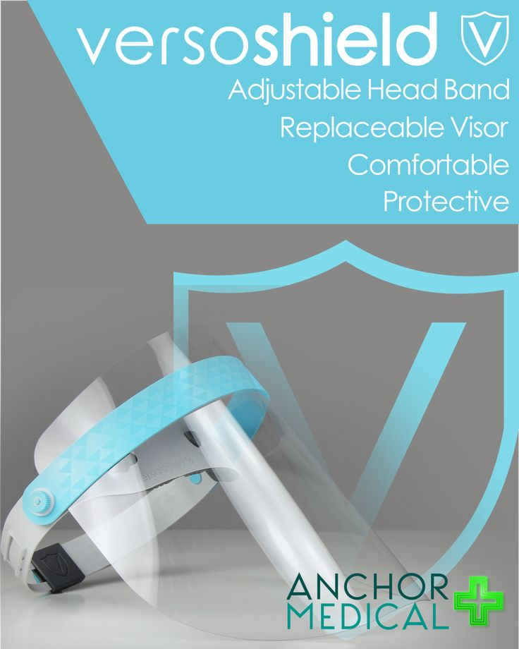 Versoshield PPE Face Shield in 2020 Face shield, Face