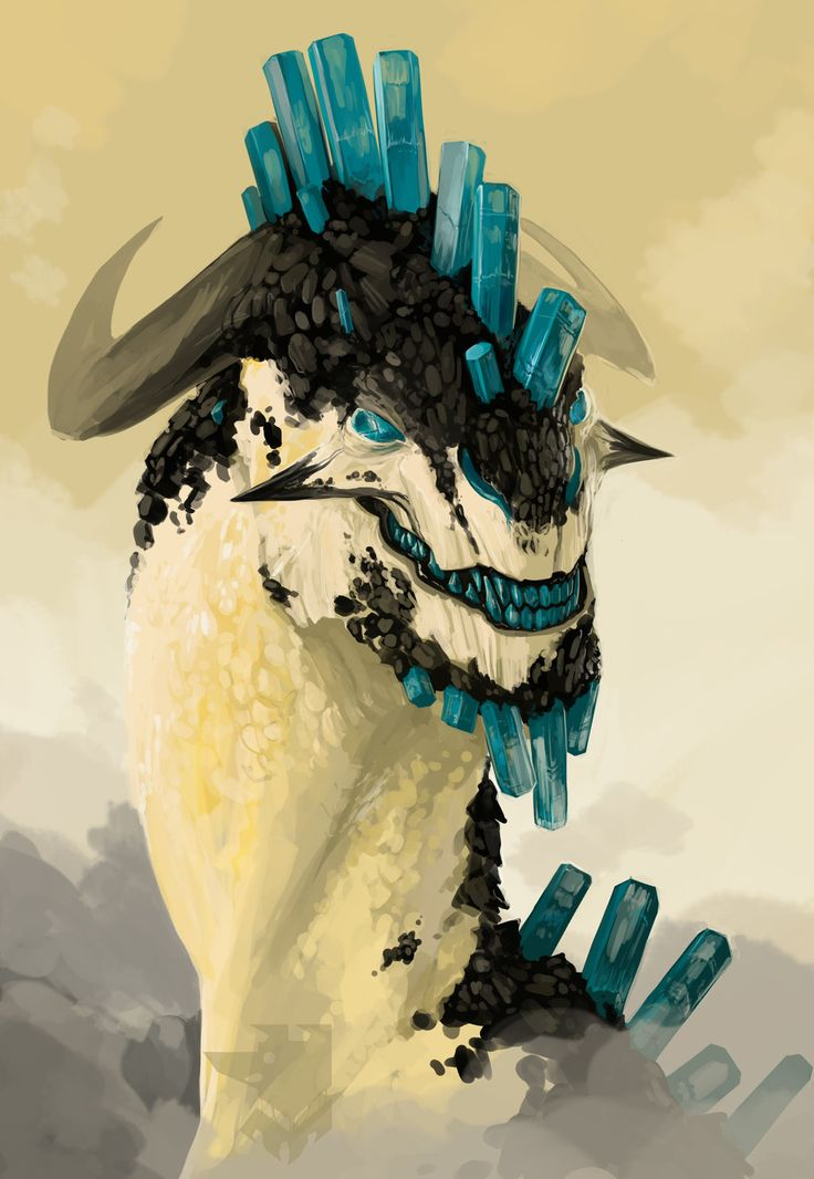 Aquamarine by *Pythosblaze   join us http://pinterest.com/koztar/cg-monsters-creatures/